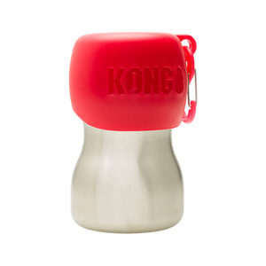 KONG H2O Stainless Steel Water Bottle – Rood – 280 ml