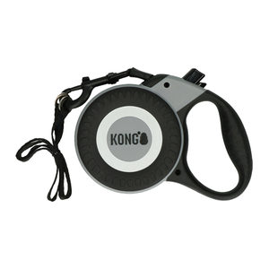 KONG Retractable Leash Reflect - Grijs - Maat L