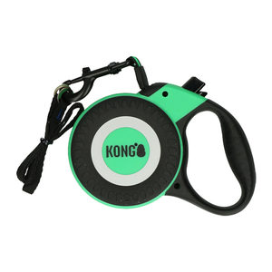 KONG Retractable Leash Reflect – Groen – Maat M