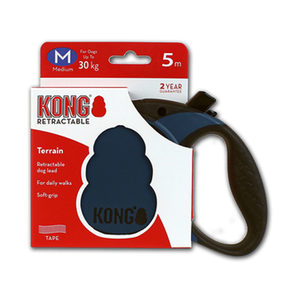 KONG Retractable Leash Terrain – M – Blauw