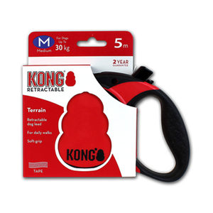 KONG Retractable Leash Terrain – M – Rood