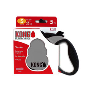 KONG Retractable Leash Terrain – S – Grijs