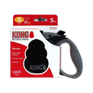 KONG Retractable Leash Terrain - S - Zwart
