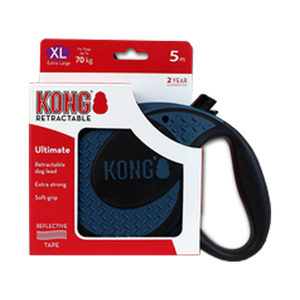 KONG Retractable Leash Ultimate - Blauw