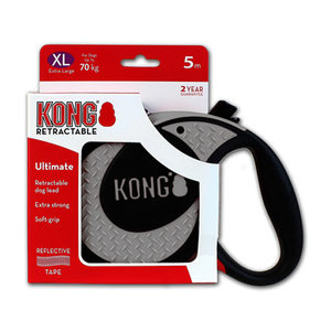 KONG Retractable Leash Ultimate - Grijs