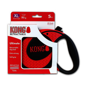 KONG Retractable Leash Ultimate - Rood