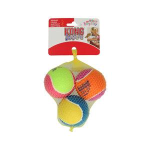 KONG SquekAir Birthday Balls – 3 ballen