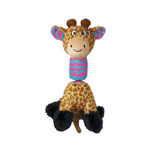 KONG Stretchezz Tugga - Giraffe - Maat S
