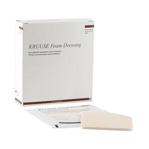 Kruuse Foam Dressing - 10 x 10 cm - 10 stuks