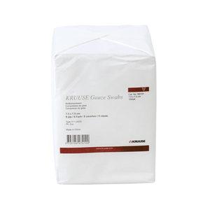Kruuse Gaaskompres Hydrofiel - 7,5 x 7,5 cm - 100 stuks