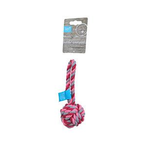 lief! Girls Hondenspeelgoed – Flosbal – 19 cm