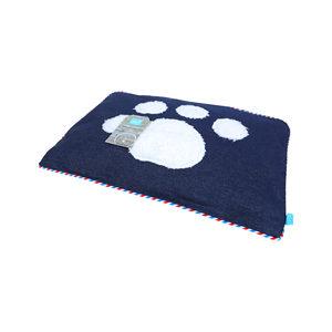 lief! Unisex Hondenkussen – Hondenpoot – 87 x 52 cm
