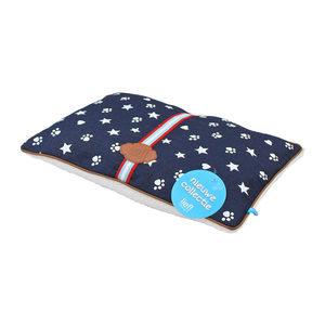 lief! Unisex Hondenkussen Tweezijdig Jeans - 87 x 52 cm