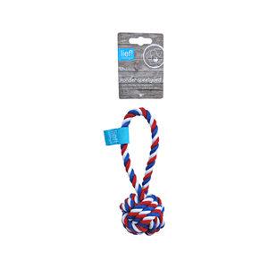 lief! Unisex Hondenspeelgoed – Flosbal – 19 cm