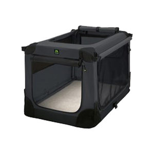 Maelson Soft Kennel Hondenbench – Antraciet – 52 x 33 x 33