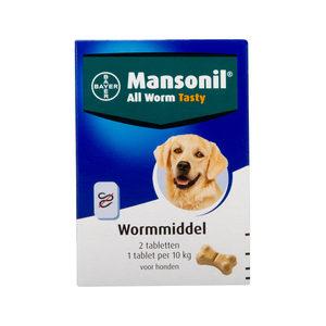 Mansonil - Wormmiddel Tasty dog