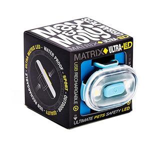 Max & Molly Matrix Ultra LED Veiligheidslamp - Blauw