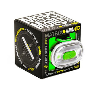 Max & Molly Matrix Ultra LED Veiligheidslamp – Groen