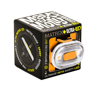 Max & Molly Matrix Ultra LED Veiligheidslamp - Oranje