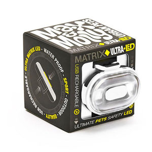 Max & Molly Matrix Ultra LED Veiligheidslamp - Wit