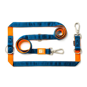 Max & Molly Multi-Function Hondenriem - Oranje - L