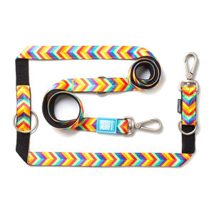 Max & Molly Multi-Function Hondenriem - Summertime - M