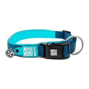 Max & Molly Smart ID Halsband - Blauw - M