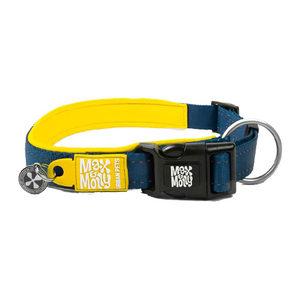 Max & Molly Smart ID Halsband – Geel – M