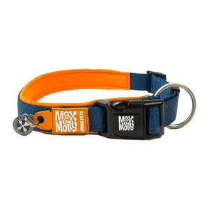 Max & Molly Smart ID Halsband - Oranje - S