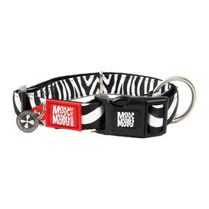 Max & Molly Smart ID Halsband – Zebra – L