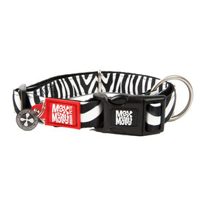 Max & Molly Smart ID Halsband – Zebra – XS