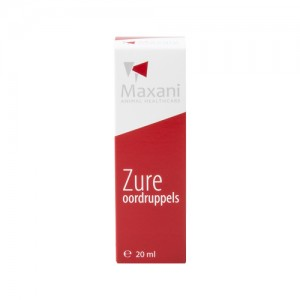 Maxani Zure Oordruppels - 20 ml
