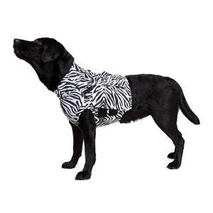 Medical Pet Top Shirt Zebraprint – S