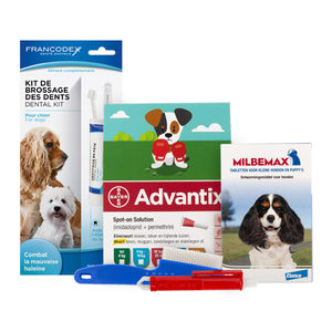 Medpets Puppypakket – tot 5 kg