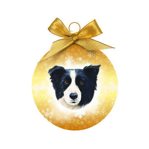 Merry Pets Kerstbal Hond - Border Collie