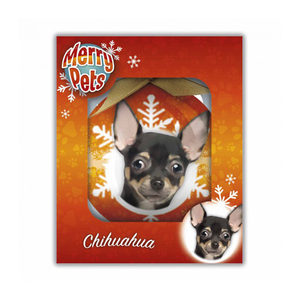 Merry Pets Kerstbal Hond – Chihuahua