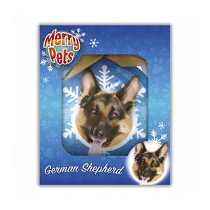 Merry Pets Christbaumkugel Hund - Deutscher Sch...