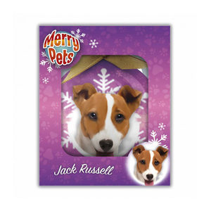 Merry Pets Kerstbal Hond – Jack russell
