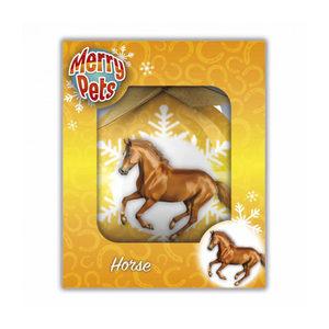 Merry Pets Kerstbal Paard - Rennend Paard