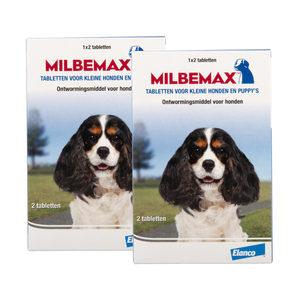 Milbemax – kleine hond – 4 tabletten