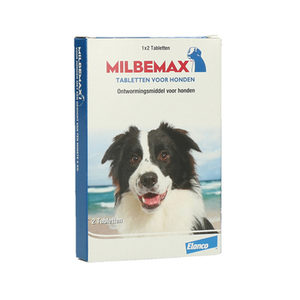 Afbeelding Milbemax Grote hond 2 Tabletten door Medpets.nl