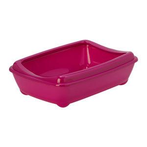 Moderna Kattenbak met Rand – 42 cm – Hot Pink