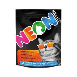 Neon Litter Kattenbakvulling - Oranje - 1,8 kg