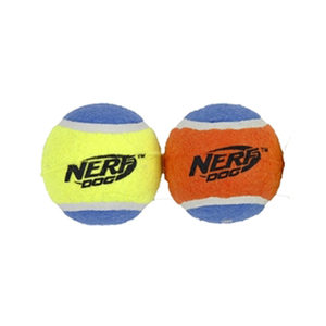 Nerf Squeak Tennisbal - L - 2 stuks