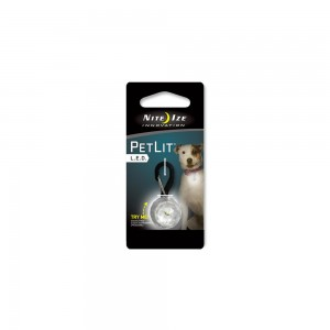 Nite Ize PetLit Led Collar Light - Wit