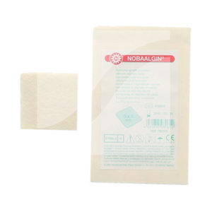 Nobaalgin Calciumalginaat Kompres - 10 stuks