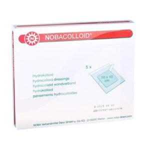 Nobacolloid Hydro Kompres - 10 x 10 cm - 5 stuks