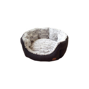 Nobby – Comfortbed Ovaal Cacho – Donkergrijs – 65 x 57 x 22 cm