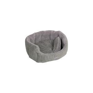 Nobby – Comfortbed Ovaal Ceno – Grijs – 55 x 50 x 21 cm