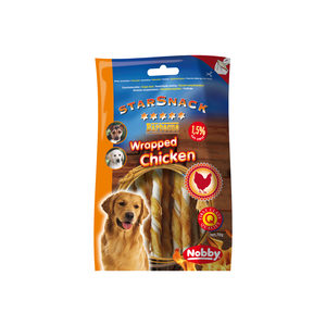 Nobby - Starsnack Barbecue Wrapped Chicken - 70 g